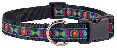 Deluxe Funkadelic Bones Woven Ribbon Dog Collar Limited Edition Woven Ribbon Collar