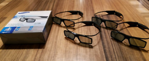 SAMSUNG SSG-3570CR ACTIVE 3D GLASSES RF X4