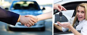 Représentant de vente automobiles d'occasion