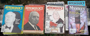 Lot of 21 copies of Alfred Hitchcock's Magazine, 1970s-1990s