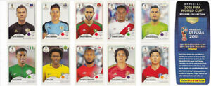 NEW - TRADE/ FIFA WORLD CUP RUSSIA 2018 – PANINI STICKERS
