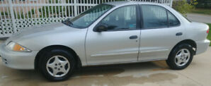 2002 Chevrolet Cavalier Clean Title, New Tires, Newer Battery
