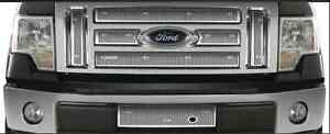 2009-2012 F150 lariat/king ranch stainless steel grill insert