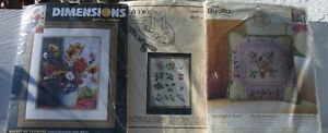Variety Cross Stitch and Embroidery
