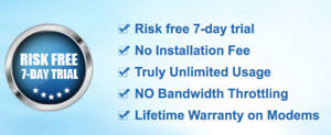Unlimited Internet Only $39.99/Month 75Mbps Cable