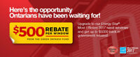 New Rebates on your Windows up-to $5,000-Limited Time Only!