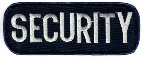 SECURITY PATCH Cap - Jacket - Uniform Patch - High Quality Embroidered Patch