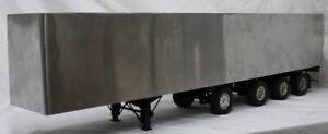 Custom scale 53' van trailer for Tamiya 1/14 semi.