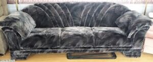 Black 94inch Couch/Sofa - Excellent condition!
