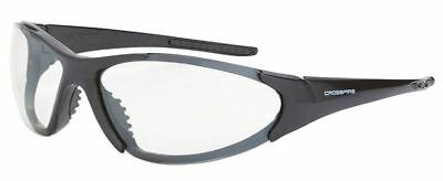 Crossfire Core Safety Glasses Pearl Gray Frame Clear Anti-Fog Lens