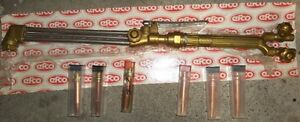 "AIRCO CUTTING TORCH 22"" LONG PROPANE OR ACETYLENE"