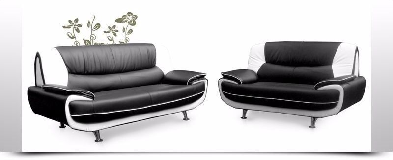 exquisite design black white red living room exquisite design chrome legs new leather sofa carol set best price red black white in enfield london gumtree