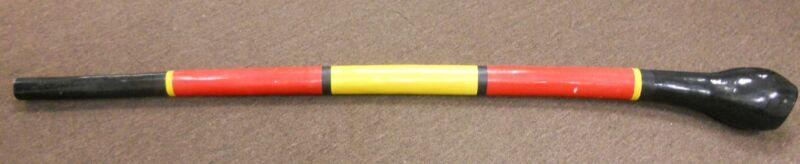 "65"" Red Yellow & Black Light Weight Didgeridoo"