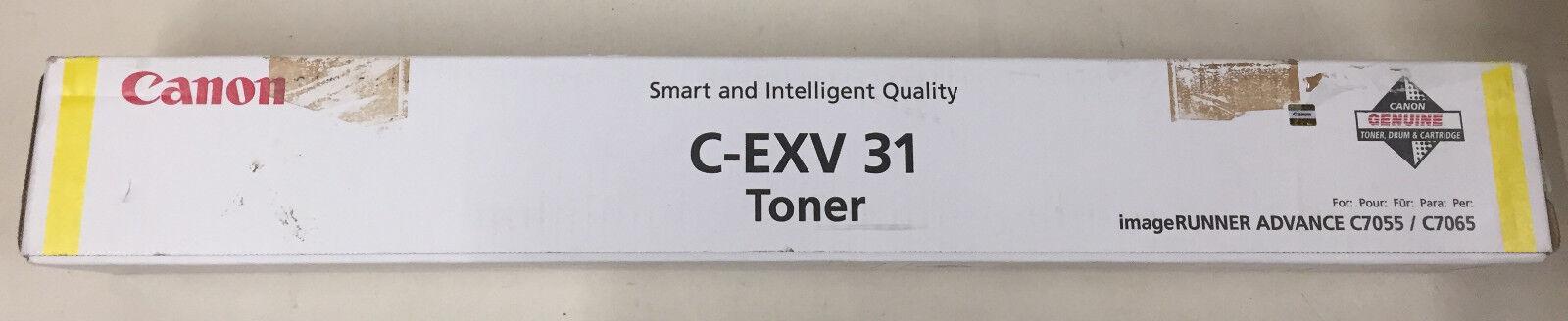 Original C-EXV 31 Toner Yellow 2804B002 für imageRUNNER ADVANCE C7055 / C7065