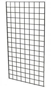 """2'x5' Double Beaded 1/4"""" Wire Grid Panels"""