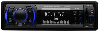 $39.95 - NEW Boss 616UAB Single Din USB/SD AUX Radio Car Stereo Receiver Audio Bluetooth