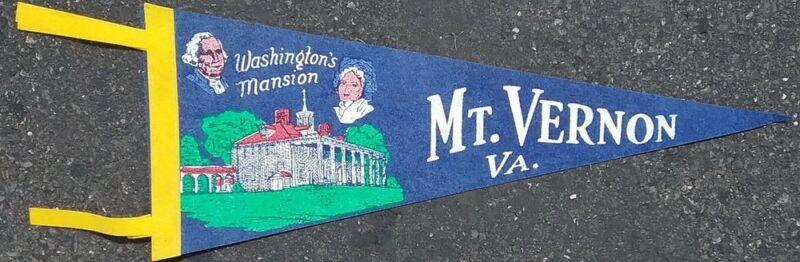 "Vintage 18"" BLUE  Washington"