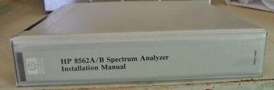 Hp 8562ab Spectrum Analyzer Installation Manual