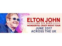 Elton John - Genting Arena in Birmingham, GB 2 Tickets for sale