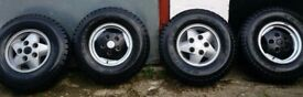 land rover discovery wheels and tyres
