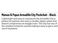 Mamas and papas armadillo city 💖