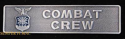 COMBAT CREW BADGE PIN US AIR FORCE MISSILE SAC ADC USAF Combat Readiness Medal