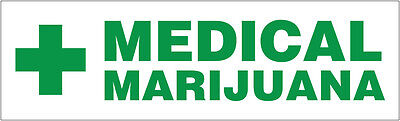 Medical Marijuana Vinyl Banner Business Sign - Cannabis Dispensary 2x4 Ft Gb