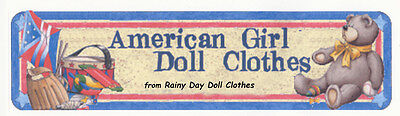 Rainy Day Doll Clothes