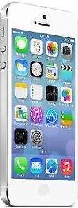 iPhone 5 16 GB White Unlocked -- 30-day warranty, blacklist guarantee, delivered to your door