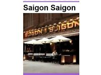 EXPERIENCED MANAGER AND HEAD WAITER REQUIRED FOR S.E ASIAN RESTAURANT