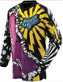 Fox motocross jersey, pants and chest protector