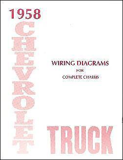 1958 58 Chevrolet Truck Wiring Manual