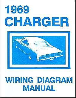1969 69 Dodge Charger Wiring Manual