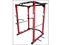 *NEW* *COMMERCIAL* Power Rack with Dipping Handles/Band Pegs (Power Cage Squat Bench Gym)