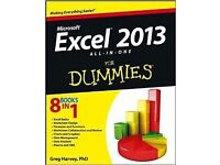 Excel Microsoft 2013 Book - New Condition