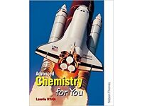 Advanced Chemistry for you textbook