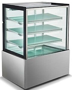 "48"" CAKE DISPLAY REFRIGERATOR, NEW, LED LIT  **TOP OF THE LINE**"