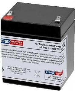 12V 5Ah Sealed Lead Acid Battery