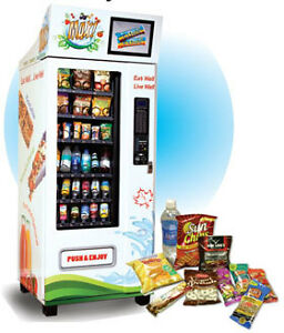 Healthy Snacks and Beverages Vending Machines