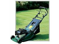 atco petrol self propelled lawnmower key start
