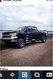 2008 Chevy duramax ltz gfx package