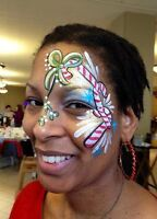 Face Painter for hire.