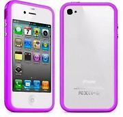 iPhone 4 Bumper Case Purple