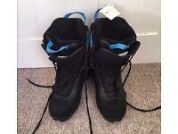 Decathlon Wed'ze Bullwhip Snowboard boots size 6.5 NEW