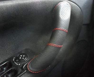 Alfa Romeo 147 accessori: copri-volante/maniglie in vera pelle