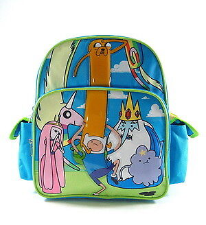 Small Backpack - Adventure Time - Forest  New School Book Bag 618223](Adventure Backpacks)