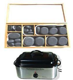 Hot stone massage complete kit £120