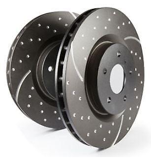 GD1606 EBC Turbo Grooved Brake Discs Front (PAIR) for TT  TT 4wd TTS 4wd