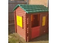 Little Tikes Log Cabin - NOW SOLD FOR £120 - thanks for looking