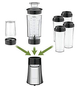 Cuisinart Compact Portable Blending/Chopping System CPB-300C